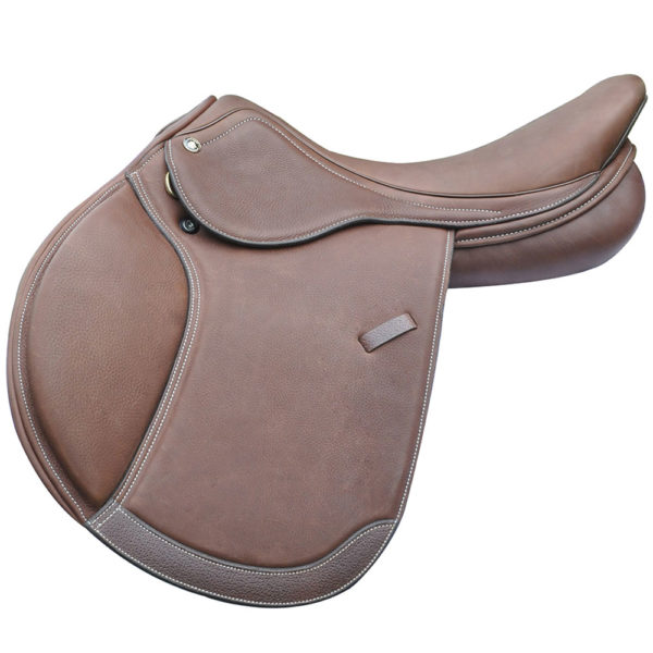 """Intrepid Gold Deluxe Saddle with IGP System 16"""""""