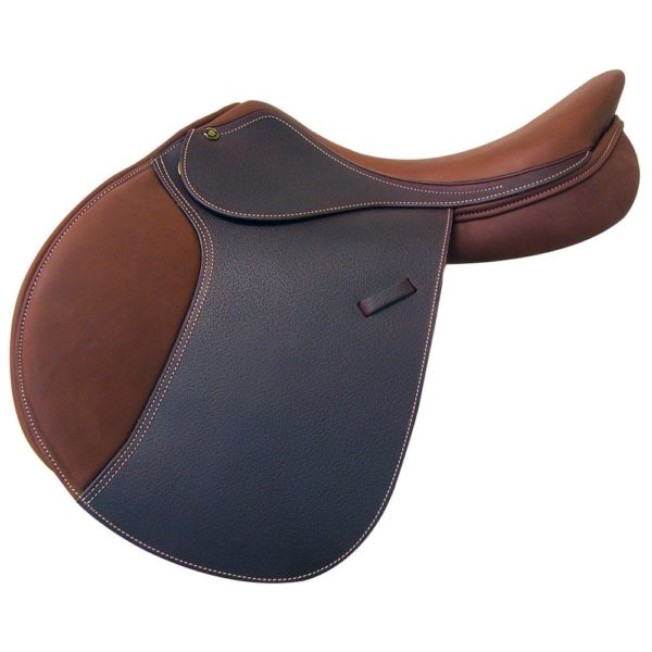 """Intrepid Gold Deluxe Saddle with IGP System Grained 16"""""""