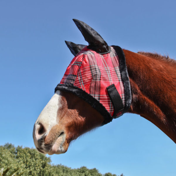 Kensington Signature Fly Mask w/Plush Fleece & Soft Mesh EarsÂ