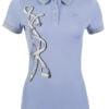 Lauria Garrelli Polo shirt -Limoni silver print-