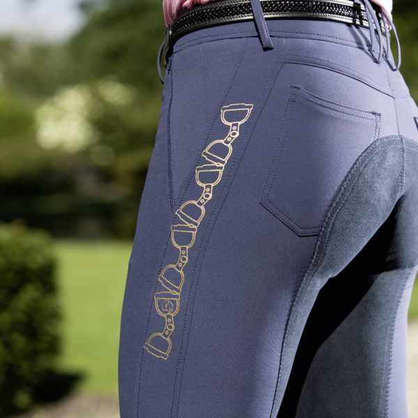Lauria Garrelli Riding Breeches Santa Rosa Pam Stripe 34 Alos