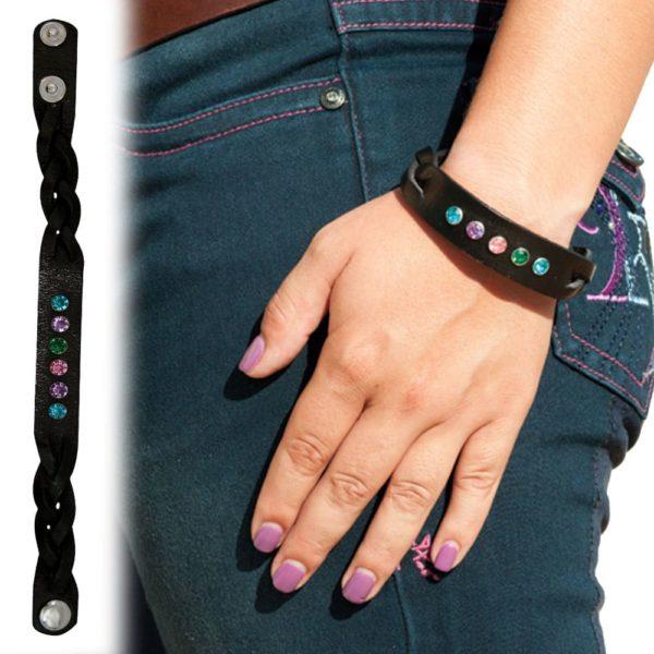 Leather Braided Bracelet by 2kGrey