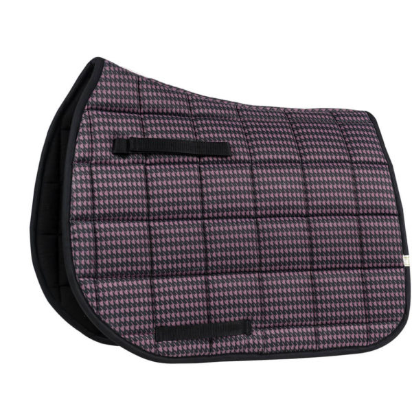 Lettia Houndstooth All Purpose Pad Purple