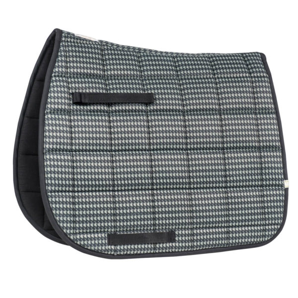 Lettia Houndstooth All Purpose Pad Grey