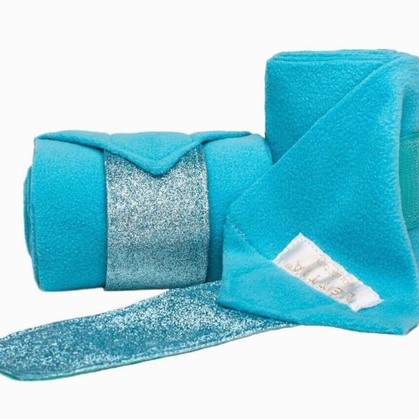 Léttia Sparkle Polo Wraps Blue Teal