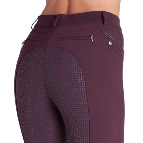 Montar Nancy Plum Full Seat Silicone Breeches (2)