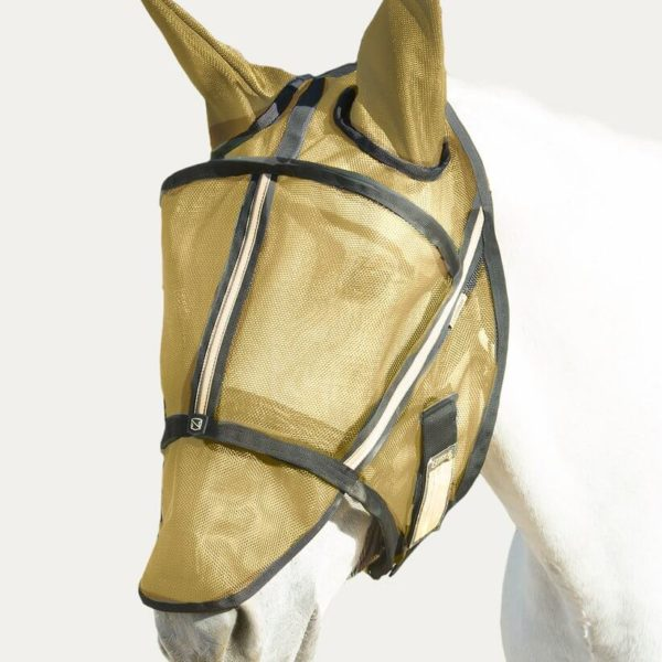 Noble Fly Mask Guardsman with Ears Gold