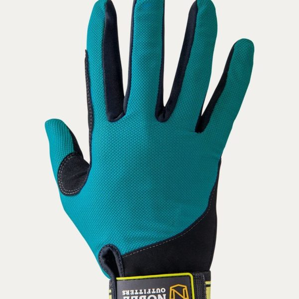 Noble Outfitters Cool Mesh Perfect Fit Glove Aqua Sky