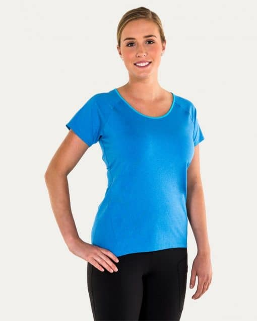 Noble Outfitters Kassidy Crew Women's Top Blue Tahoe