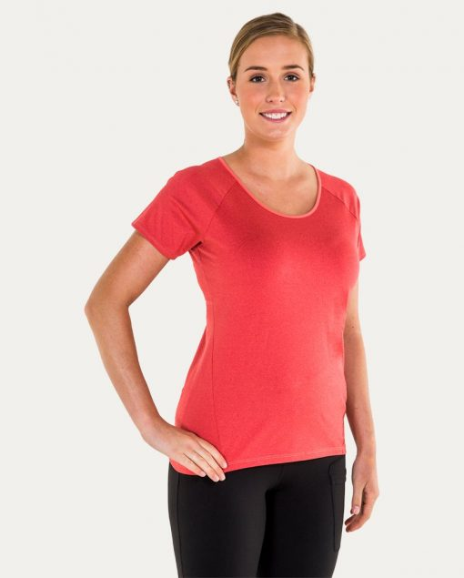 Noble Outfitters Kassidy Crew Women's Top Coral