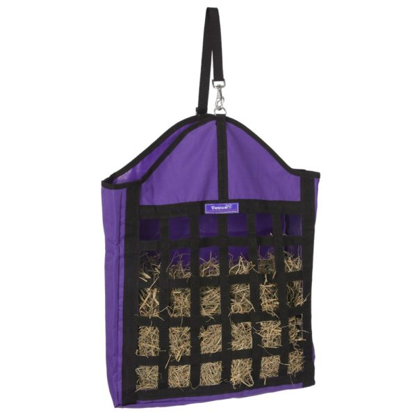 Nylon Hay Tote with Web Front