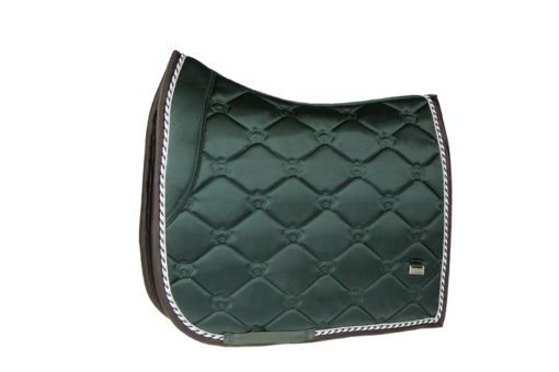 PS of Sweden Saddle Pad Monogram Dressage Emerald Green
