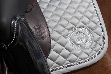 PS of Sweden Show Jumping Pop Saddle Pad Grey1