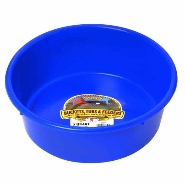 Plastic 5 Quart Utility Pan