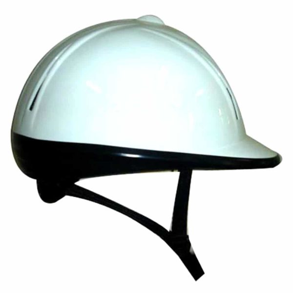 Polly Helmet Adult White