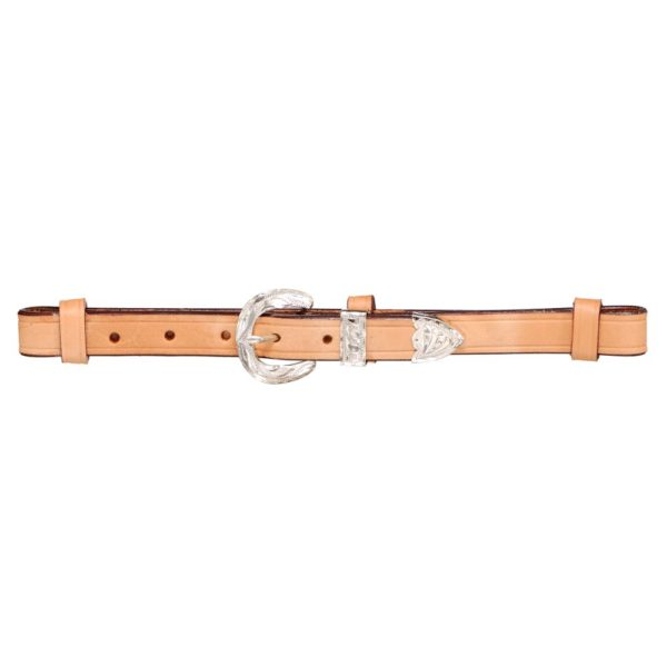 Premium Breastcollar Replacement Straps w/Silver Buckle