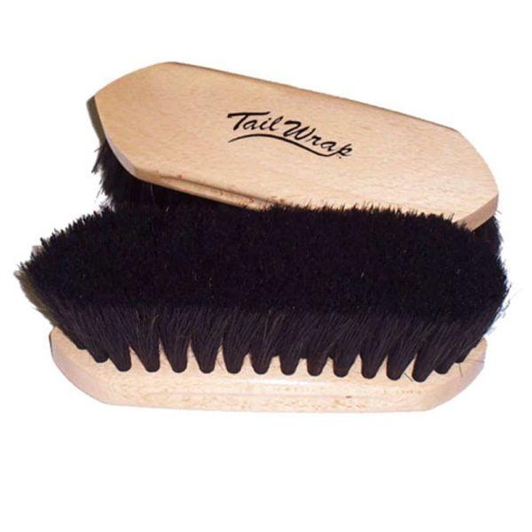 Professional Wooden Block Horse Hair Brush - Lg