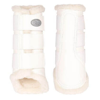 Harrys Horse Protection boots Flextrainer White