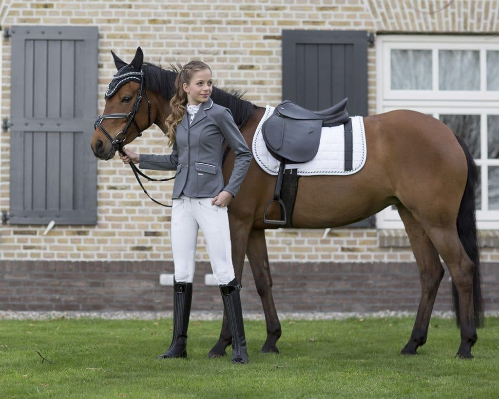 Qhp Coco Show Jacket The Connected Rider