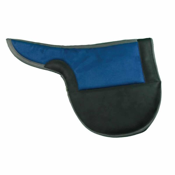 Racing Exercise Saddle Pads Black