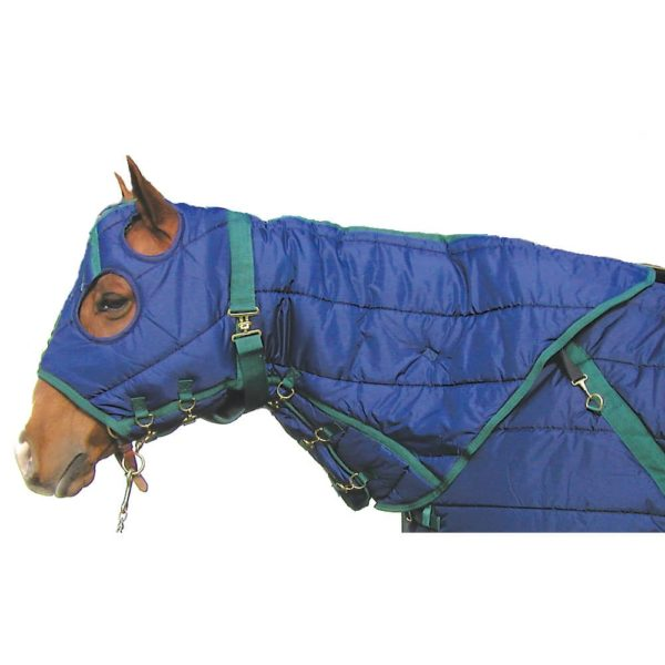 Snuggie Quilted Hood-Navy Navy / Hunter M