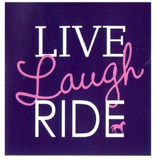 T-Shirt Live Laugh Ride