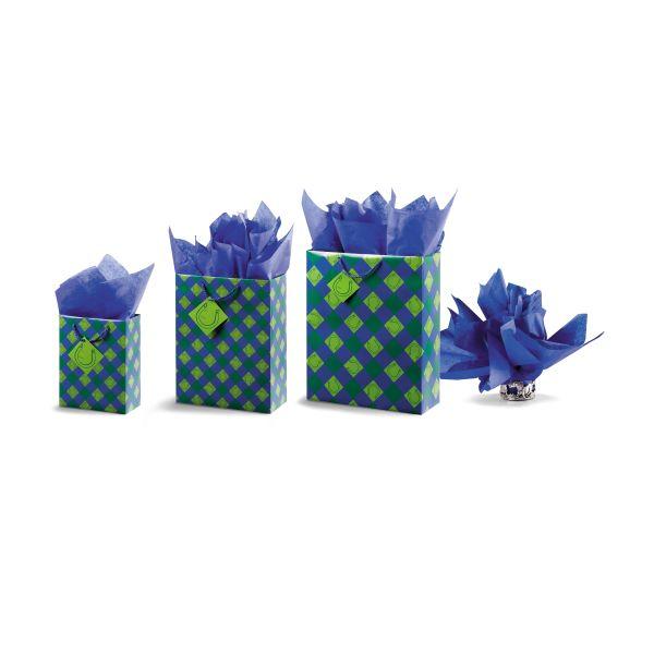 Tissue Paper Blue