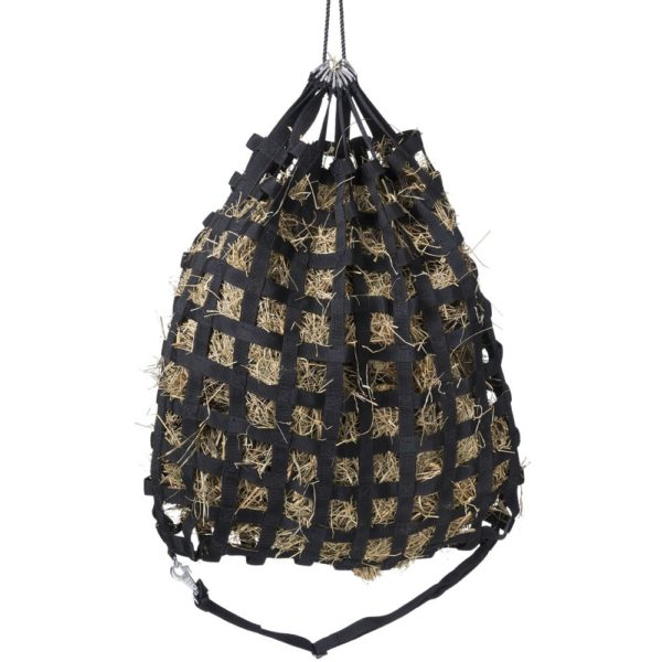 """Tough 1 Slow Feed 1"""" Web Hay Feeder with Drawstring Top"""