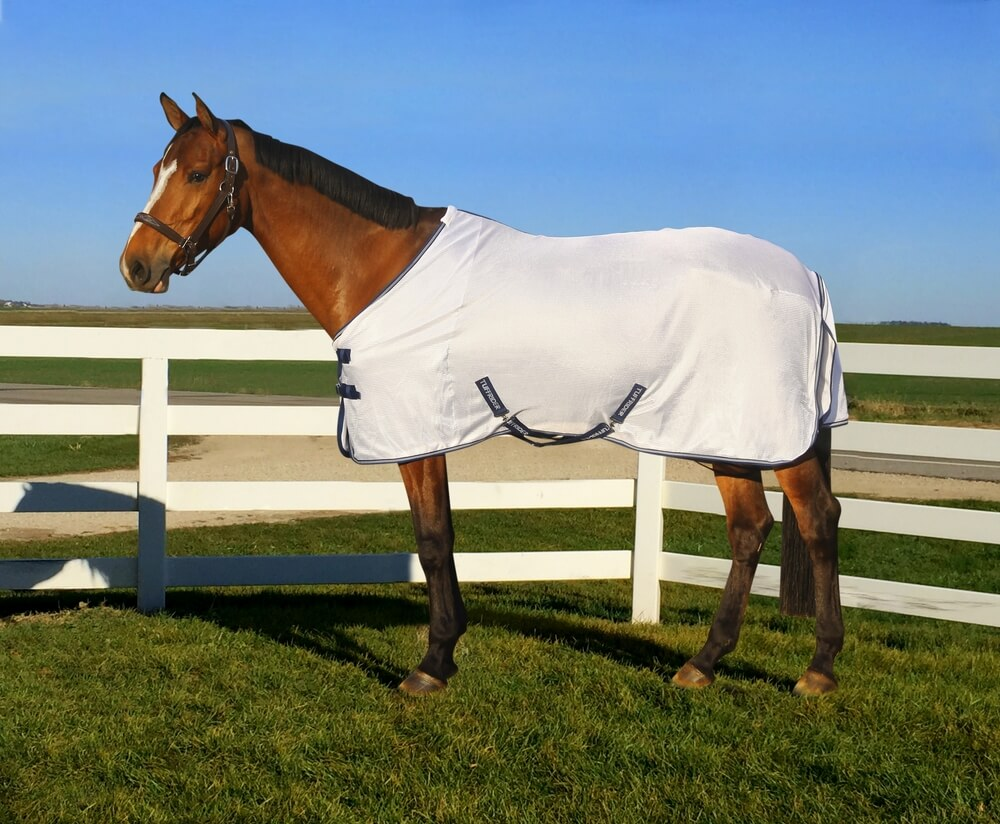 TuffRider Sport Mesh Fly Sheet Frosted Almond 84