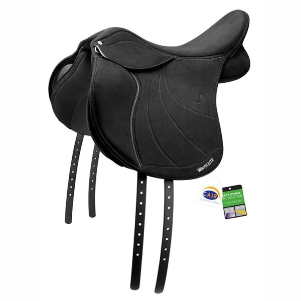 WintecLite WIDE All Purpose D'Lux Saddle CAIR Black