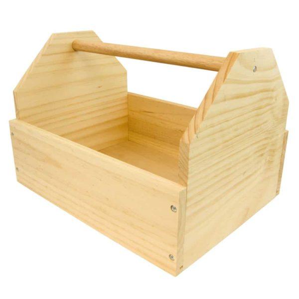 Wooden Tack Box