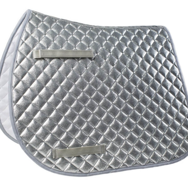 Léttia Sparkle Saddle Pad Dressage Silver